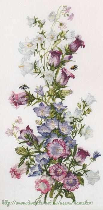 """Милая вышивка — """"Летние цвет…"""