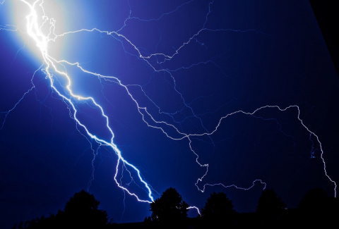 Как нас ударила молния