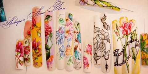 Студия дизайна ногтей.Моделирование.Арт-Дизайн