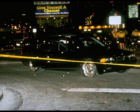 BMW, в котором был убит леге…