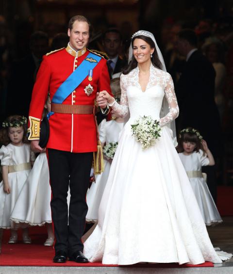 Кейт Миддлтон и принц Уильям отмечают годовщину свадьбы