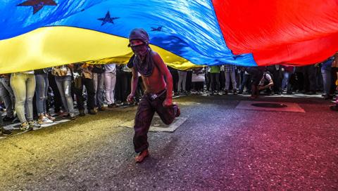 В Венесуэле наблюдается майдан по образцу 2014 года