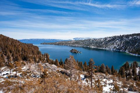 Озеро Тахо: красивое, горное…