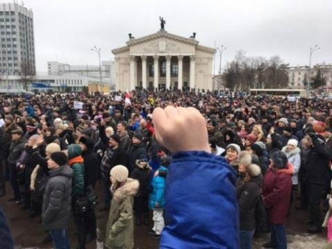 «Участники протестов в Белор…
