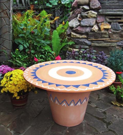 Мастер-класс : садовый столи…