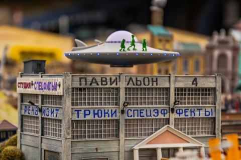 Макет русской жизни