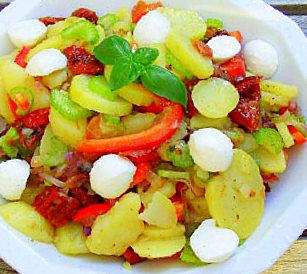 Среднеземноморский картофельный салат. Германия. Фото-рецепт. Olga Dell
