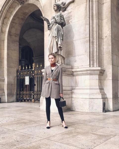 В стиле Шанель: 8 крутых Instagram-образов с туфлями в духе Chanel