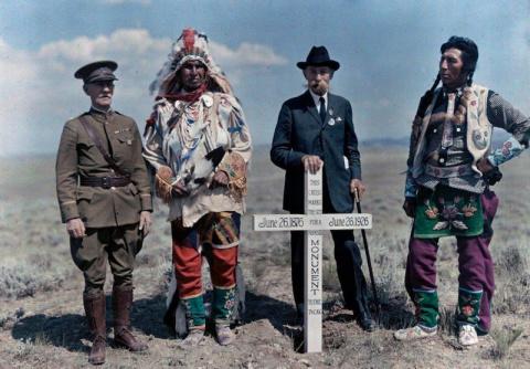 1927 в цвете. Архивы журнала National Geographic