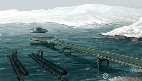 Россиянин обнаружил мифическую нацистскую базу в Антарктиде