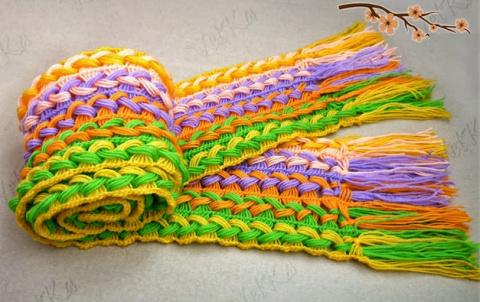 Шикарный шарф, связанный на …