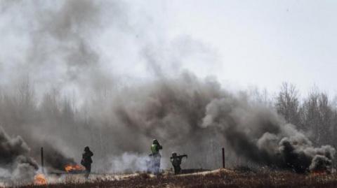 Украинские войска атакуют, з…