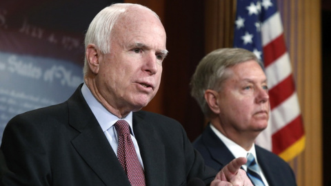 CNN: Маккейн и Грэм высмеяли…