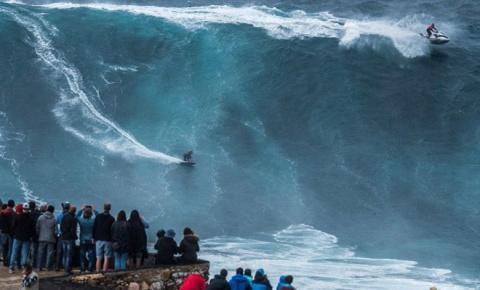 Самые огромные волны в мире — не пропустите это зрелище!
