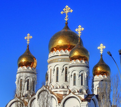 золото куполов