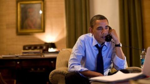 Жалобный звонок Обамы