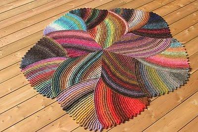 Меланжевый коврик интересной…