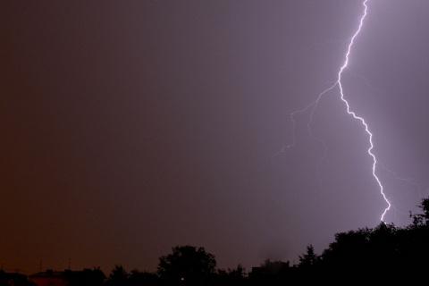 В Китае молния ударила в вед…