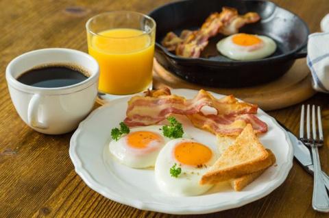 Идеальный завтрак. Какие блю…