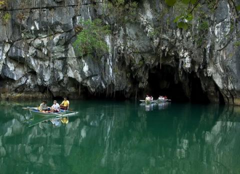 Подземная река Пуэрто-Принсе…