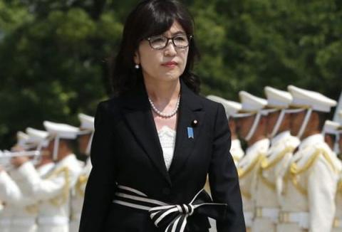Глава Минобороны Японии Томо…