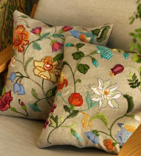Вышивка embroidery works