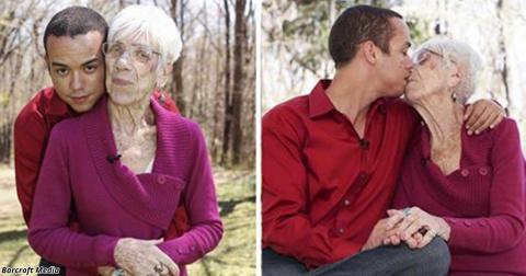 Ему 31, ей - 91! И их любовь доказывает, что возраст ничего не значит