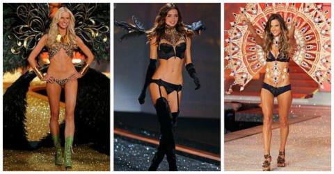 Модели Victoria's Secret до …