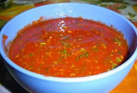 Мой Любимый соус к шашлыку