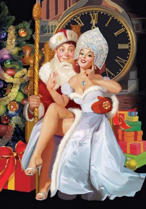 Татьяна Доронина: веселый новый год
