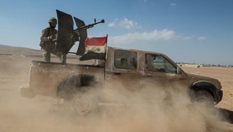 Сирийские войска изгнали терористов и освободили захваченые селения