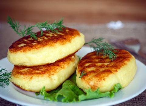 Картофельные зразы с печеноч…