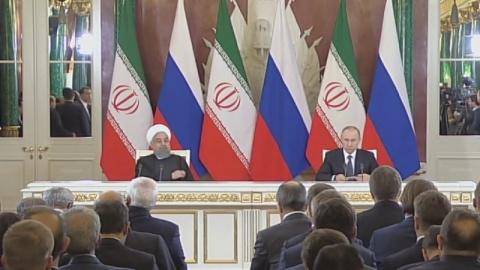Путин и Роухани обсудили уси…