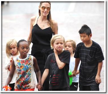 Анджелина Джоли разводится с…