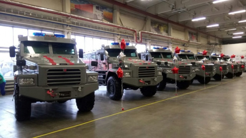 Росгвардия получила десять специальных бронеавтомобилей «Патруль»