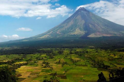 Вулкан Майон   Мир путешествий