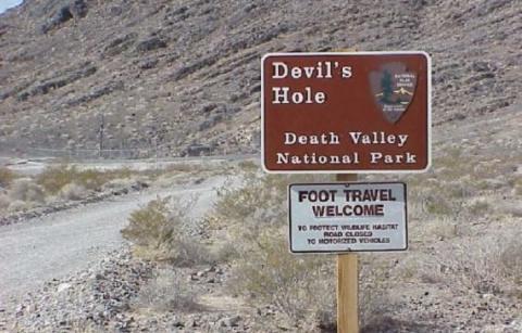 Чудеса в Долине Смерти.
