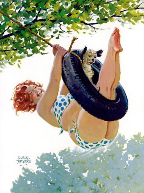 Приключения пухлой Хильды - героини стиля pin-up из 50-х