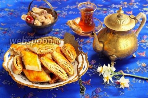 Кете — слоёные печенья по-азербайджански