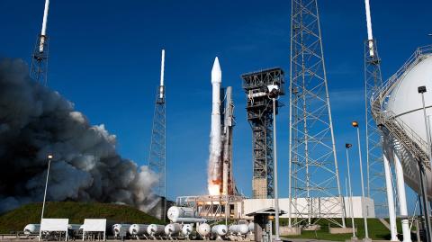 Ракету Atlas V с секретным с…