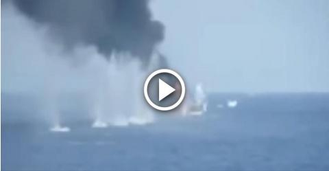 Расстрел сомалийских пиратов…