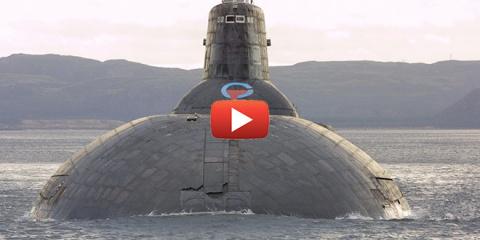 Российская атомная подлодка от которой в США просто волосы становятся дыбом