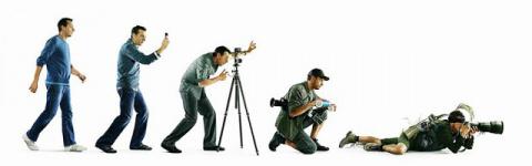 Фотолюбителям. Эволюция фотографа