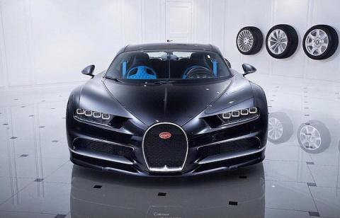 Россиянин заказал Bugatti за 220 млн рублей