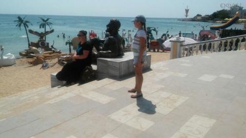Туристическая блокада Крыма …