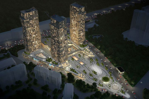 Около ТПУ «Мичуринский проспект» появится жилой комплекс с городской площадью