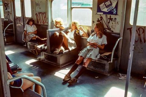 Метро Нью-Йорка в 1980-х год…
