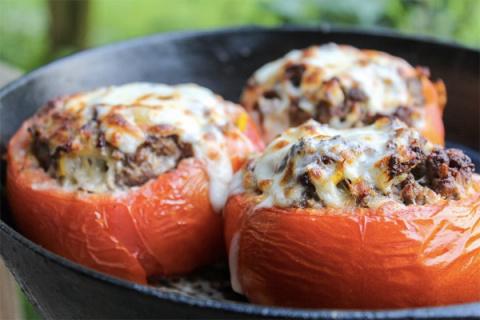 Оригинальные блюда с помидорами