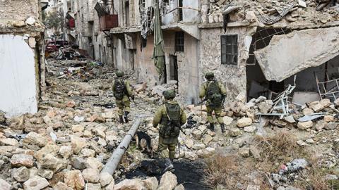Саперы РФ разминировали более трех тысяч зданий Алеппо