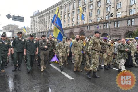 Блеск и нищета порошенковского парада